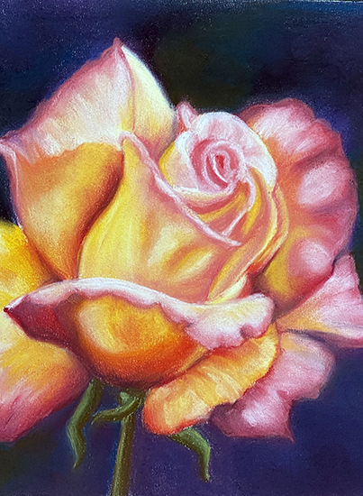 soft pastel artwork